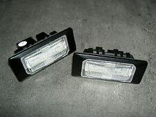 LED SMD Kennzeichenbeleuchtung passend für Audi TT TTS TTRS 8J Coupe Roadster