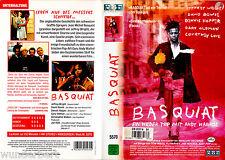 VHS -- BASQUIAT - Ein wilder Trip mit Andy Warhol -- (1996) - Jeffrey Wright