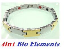 Abete anioni magnetico energia germanio bracciale Potenza Bracciale Salute 4in1 Bio ciff