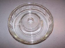 GLASSBAKE QUEEN ANN GLASS BUNDT PAN / JELLY MOULD - USA