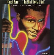 """CHUCK BERRY - '""""HAIL! HAIL! ROCK 'N ROLL"""" Original Motion Picture Soundtrack cd"""