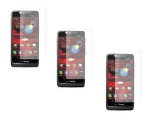 3 Premium Clear Custom Screen Protector Guard for Motorola Droid RAZR M XT907