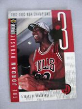 1997/98 UPPER DECK THE JORDAN DYNASTY CARD #JD3 ORIGINAL SINGLE FROM SET