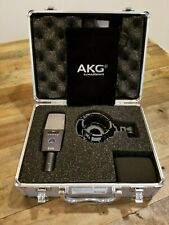 AKG C414 XLS Condenser Mic near mint, with BRAND NEW ACCESSORIES