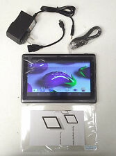 "7"" INCH A33 Quad Core Google Android 4.4 Tablet PC Phablet Smart Phone 13GB"