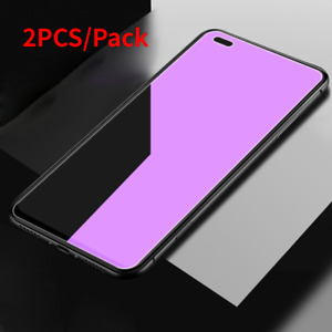 2PCS OPPO Realme X50 Pro X50M X50T X7 Anti Blue Tempered Glass Screen Protector