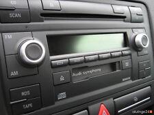 AUDI Aluringe Alu Radio Symphony 2 II QUATTRO S-LINE RS3 RS4 TTS TTRS 3.2
