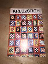 Kreuzstich Stickheft Handarbeitsheft DDR Verlag für die Frau