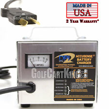 Club Car DS Golf Cart - 36 Volt 18 Amp DPI Battery Charger - Crowfoot Handle
