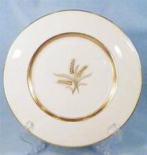 Lenox Westfield Salad Plate Off White Porcelain Gold Wheat R-440 Nice Condition