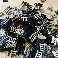 LEGO PARTS - x33 Qty (50g.) Fence Railings & Banisters Mixed Packs Excellent