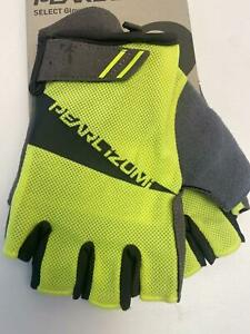 new Pearl Izumi MEN'S Select bicycle GLOVES Screaming YELLOW MD-LG-XL-XXL