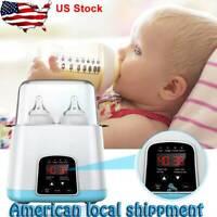Baby Bottle Warmer & Sterilizer for Breastmilk High Temperature Steam Sterilizer