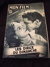Mon Film Avril 1949 Claire Maffei Marc Cassot Les dieux du dimanche
