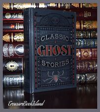 Ghost Stories by Poe Wells Doyle Kipling New Sealed Leather Bound Collectible