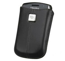 Genuine BlackBerry Leather Pocket Pouch Case Cover per curva 8520,9300 Bold 9780