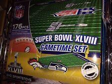 Super Bowl GameTime set OYO NFL Seattle Seahawks Denver Broncos Lego Compatible