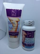 Breast Bust up Lift 60 cap + Real-C Body Cream increase Bra Size Plump reaffirm