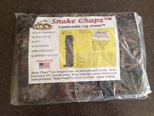 Snake Chapz Comfortable Leg Armor Water Resistant Camo Short/Stocky New