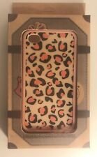NEW iPhone 4 / 4S Silicone Soft Case Cover- Pink Leopard