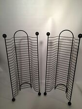 """Pair of matching CD towers-holds 24 ea. 20.5"""" high - great shape!! REDUCED!"""