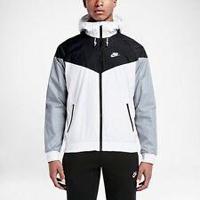 Nike NSW Sportswear Windrunner Jacket Black/White Sz XXL 727324-101