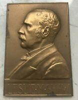 Leslie M Shaw Bronze Medal - Secretary of the Treasury 1902
