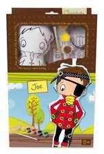Puppe Joe aus Stoff zum Bemalen mit Farben und Pinsel, Stoffpuppe 30 cm Pirat