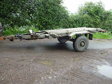 Wabco Army Trailer £750 + vat