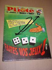 """""""PILOTE no 421"""" (1967) ASTERIX / PILOTORAMA - UN GRAND SEIGNEUR AU XIIIe s."""