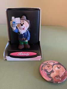 Bad Taste Bears - Randy, One of The Seven Pervs, plus badge.