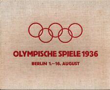 Sammelbildermappe Bildbericht Reichssportfeld Olympische Spiele '36 Bilderdienst