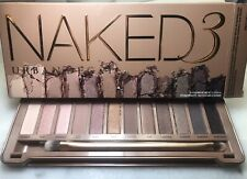 New Urban Decay Naked 3 Palette Eye Shadow 100% Authentic
