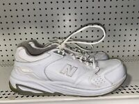 New Balance 927 Mens Leather Athletic Walking Shoes Size 10 D White