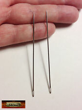 """M01134 MOREZMORE 2 Sewing Needles 3"""" Long Doll Bear Upholstery Leather A60"""