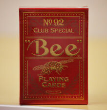 Bee Premium Red Playing Cards Deck Brand New