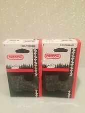 """2 Pack New Oregon 22LPX068G Chainsaw Chain 18"""" .325 .063 68 DL 26RS 68"""