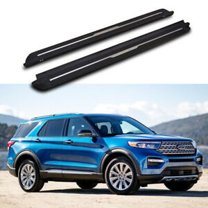 Running board fits for Ford Explorer 2020+ side step protect bar 2PCS stairs