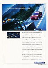 1999 Subaru Legacy Wagon Original Advertisement Print Art Car Ad J591