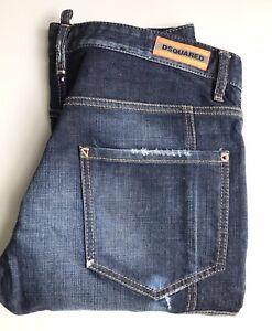 Dsquared2 Men's Jeans, Orange Pop!, Size 36, Excellent Condition
