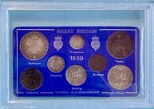 More details for 1887 silver & 1890 - 1901  queen victoria collectable coin sets choose your date