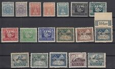 B2605/ POLAND – SILESIA – 1920 / 1922 MINT LOT – CV 105 $