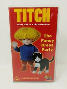 Titch - The Fancy Dress Party - ABC For Kids - Rare 2001 VHS Video Tape