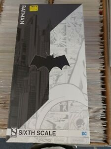 Batman Sixth Scale Figure Sideshow /1000 Collectibles DC Comics 1:6 100425 1/6