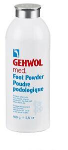 Gehwol Foot Powder - 100g - Keeps Feet Dry Silky & Odourless Prevents Mycoses