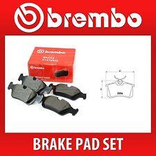 BREMBO Freno Pad Set (2 RUOTE su 1 asse) P 85 017 / P85017