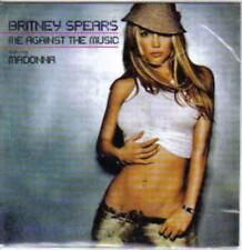 Britney Spears: Me Against The Music Numbered PROMO Madonna MEXICO AUDIO CD 2688