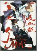 1 DVD MANGA SHOJO HORROR ANIME,VAMPIRE PRINCESS MIYU PRINCIPESSA VAMPIRO 2 devil