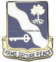 ARMY 143 INFANTRY REGIMENT UNIT CREST