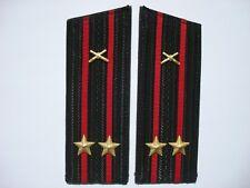 Russian Soviet Army USSR Naval Artillery Shoulder Boards Straps Epaulets Navy